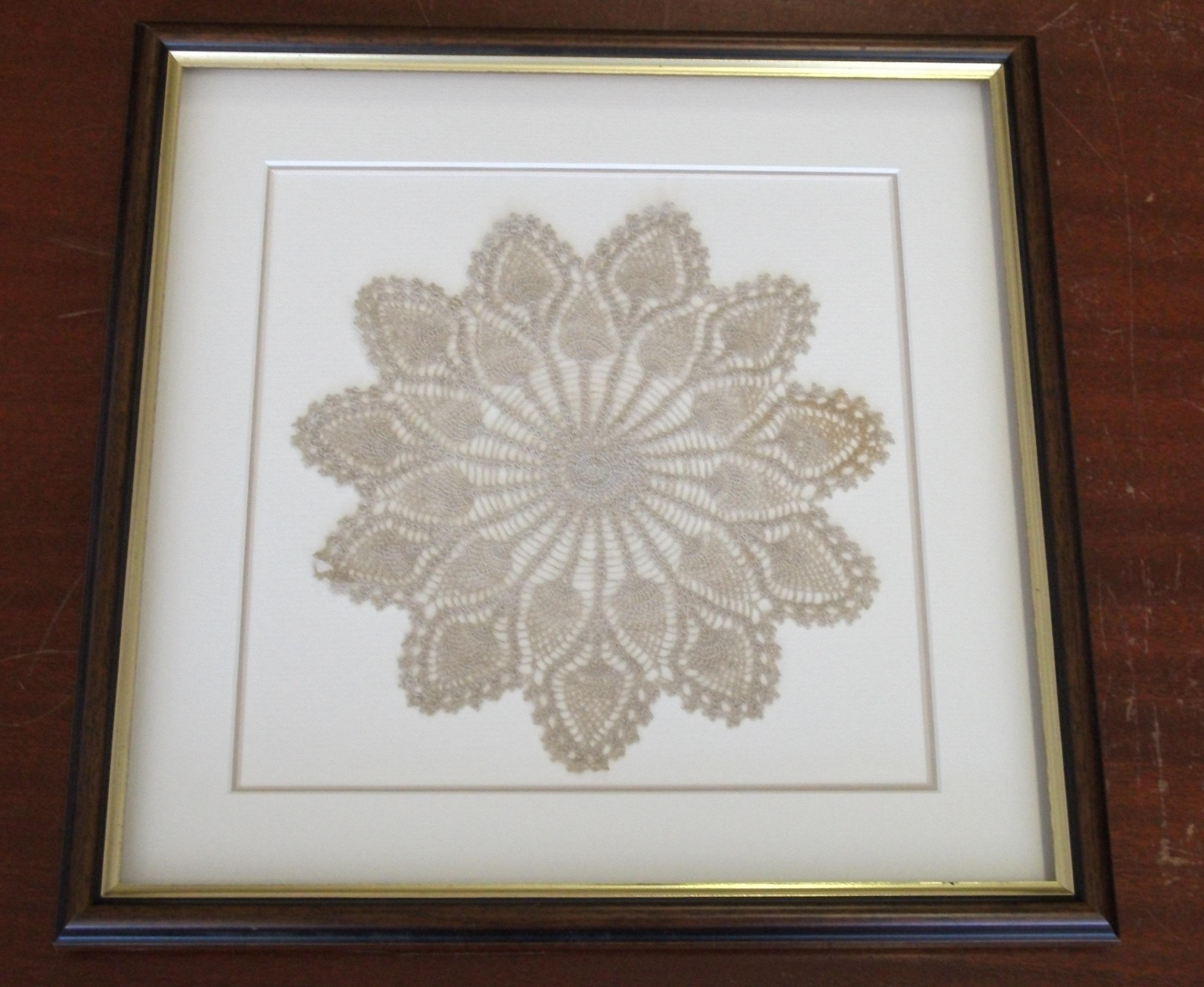 Antique Fabric Doily