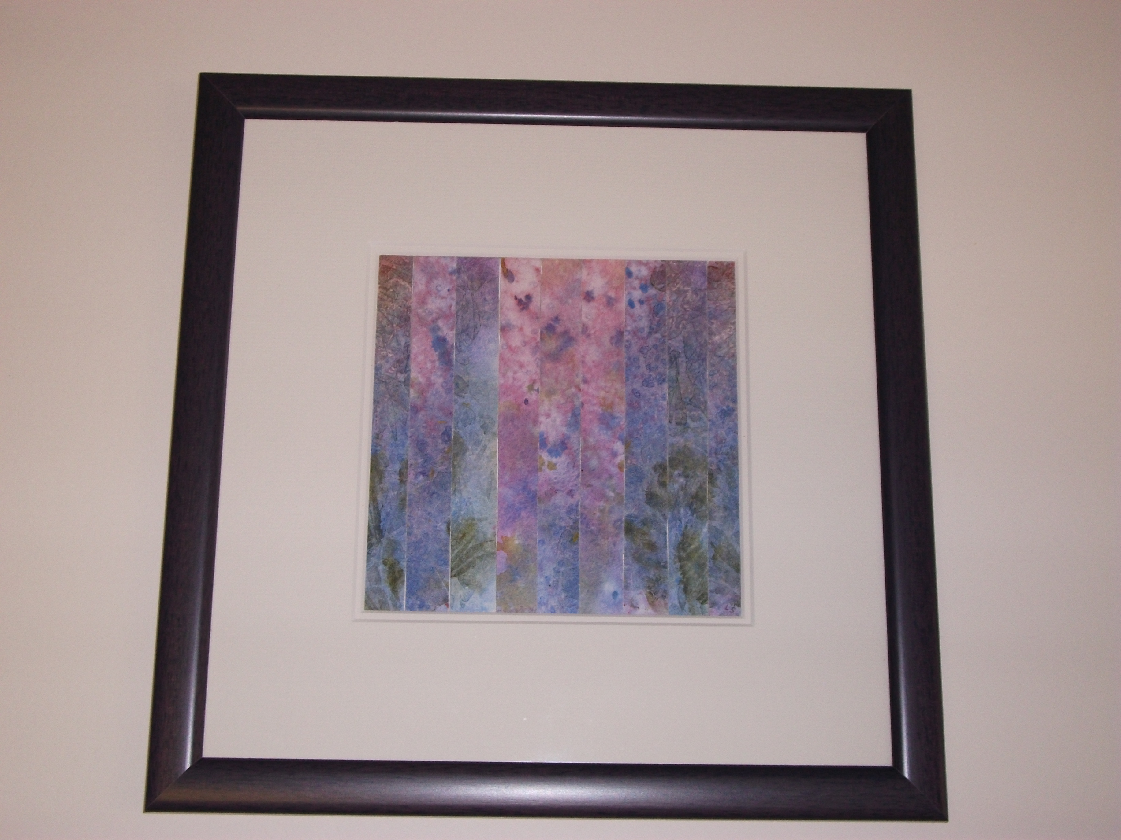 Abstract in a black frame
