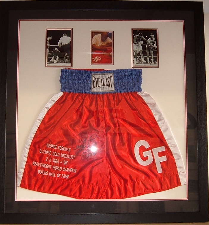 George Forman's Boxing Shorts